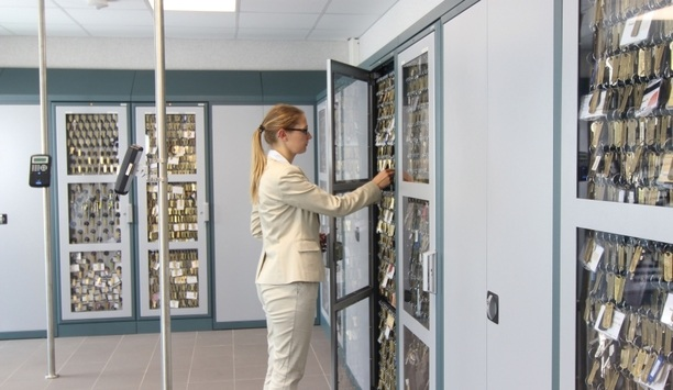 Maxxess eFusion security management platform integrated with deister electronic key management systems