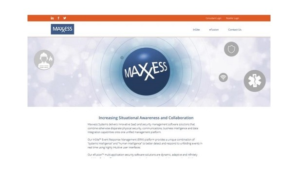 Maxxess Systems launches website to brings about improvements and update security coordination