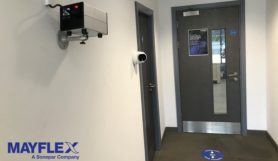 Mayflex Installs Hikvision Thermal Elevated Temperature Screening For COVID-19