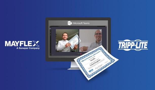 Mayflex forms a partnership with Tripp Lite to distribute their UPS systems category in the UK