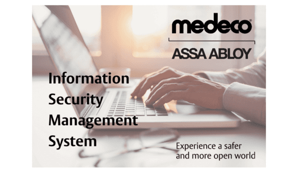 ASSA ABLOY Announces That Medeco Security Locks Have Secured ISO 27001 Recertification