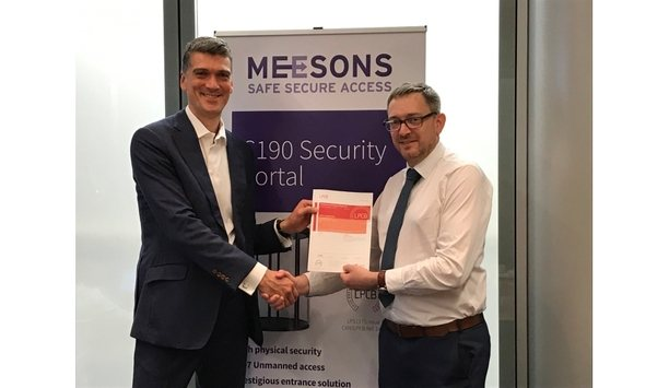 Meesons achieves LPS 1175: Issue 8 certification for an extended range of security portals