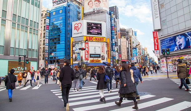 MESSOA Maven IP Cameras Secure Tokyo Shopping District
