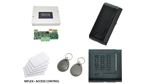 MTECC launches MFLEX door access control system for network access up to 128 doors