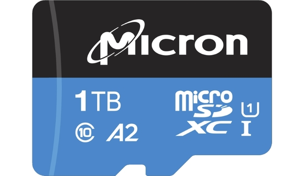 Micron launches world's first 1TB industrial-grade microSD card to replace Network Video Recorders with Cloud-Managed Video Surveillance
