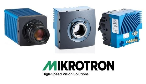 Mikrotron to unveil high-tech machine vision cameras at SPIE Photonics West 2019