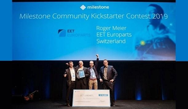Milestone Systems announces Milestone Community Kickstarter Contest 2019 winner at MIPS Denmark 2019