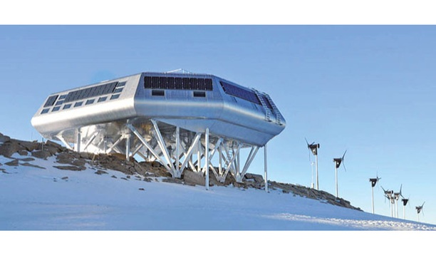 MOBOTIX camera helps researchers monitor equipment at unmanned station in Antarctica during winter