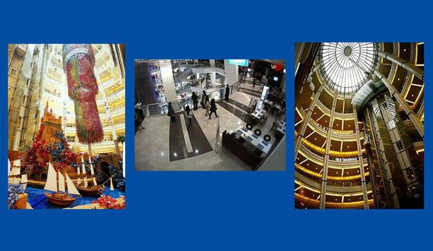 MOBOTIX DualDome surveillance cameras protect shoppers at Pacific Place Jakarta, Indonesia