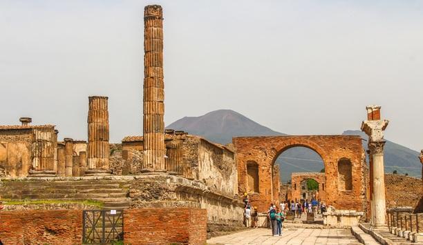 Protecting Pompeii with MOBOTIX video surveillance