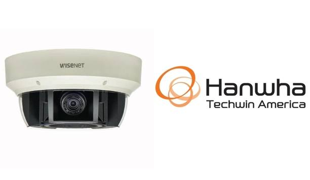 Hanwha Techwin America expands video solutions with Wisenet P series multi-sensor/multi-directional cameras