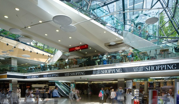 Multitone Mall Call solution enhances security communications at Canary Wharf retail facilities