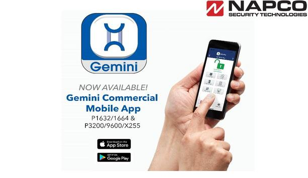NAPCO Security introduces new Gemini Commercial App for dealers