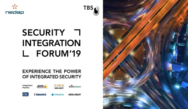 Nedap partners with Touchless Biometric Systems to host Security Integration Forum 2019
