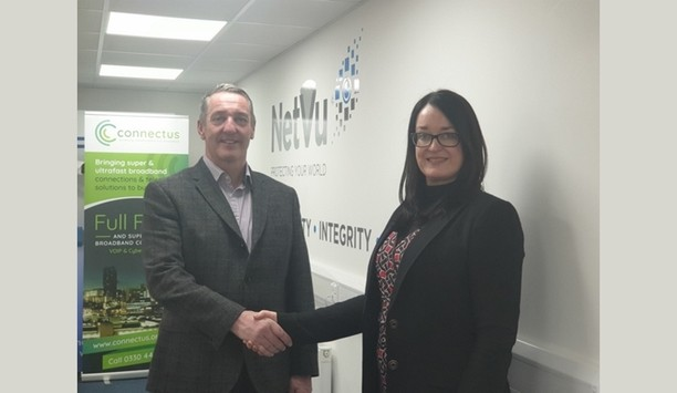 NetVu partners with Connectus to deliver IP-based surveillance services to businesses across the UK