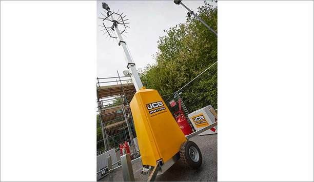 VPS Site Security to display JCB Smart Tower solution at London Build 2016