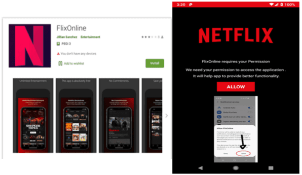 New android malware disguised as Netflix app spreads via WhatsApp message auto-replies