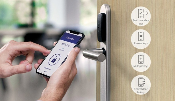 ASSA ABLOY Openow mobile app for SMARTair adds online functionality to offline locking