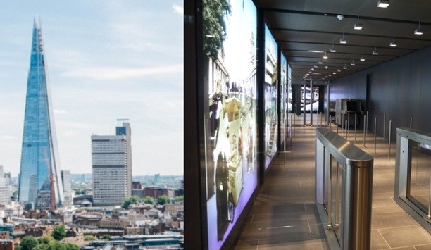 Nortech helps The Gunnebo Security Group to install MRC350 at the Shard building