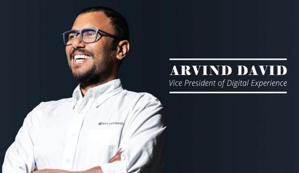 Arvind David promoted to vice president of digital experience and voted as a member on the board of directors for NVT Phybridge