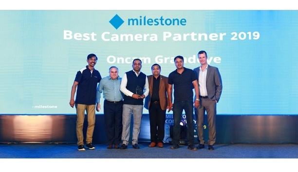 Oncam Receives best camera partner 2019 recognition at Milestone's Partner Open Platform (MPOP)