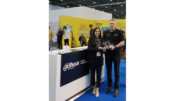 Oprema wins Dahua UK & Ireland distributor of the year award