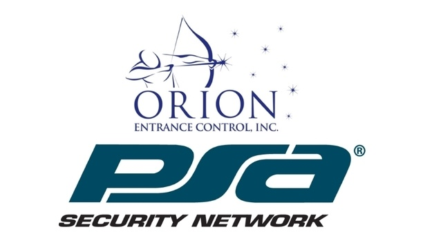 Orion Entrance Control To Supply Customizable Access Control Solutions To PSA Security Network