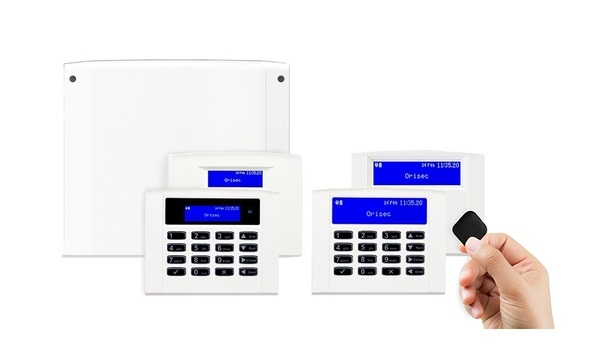 Orisec launches CP-10 and CP-20 control panels and RK-400 series LCD keypads