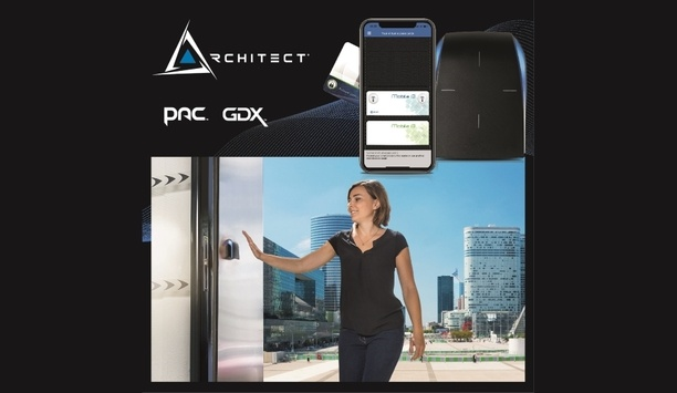 PAC & GDX Announce Availability Of Architect Access Control Readers With RFID, NFC And Bluetooth Technologies