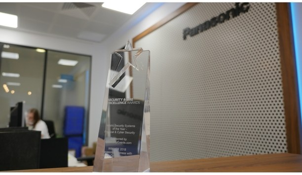 Panasonic's cyber security and secure communication platform felicitated at IFSEC Security & Fire Excellence Awards 2018