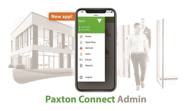 Paxton launches Connect admin app to manage its IP access control system Net2