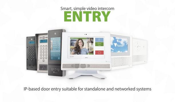 Paxton's launches Entry, a smart, simple video intercom system