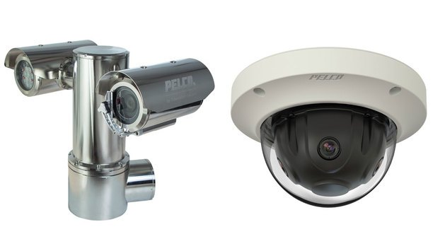 Pelco's ExSite Explosion-Proof cameras and Optera Panoramic Cameras on display at IFSEC 2017