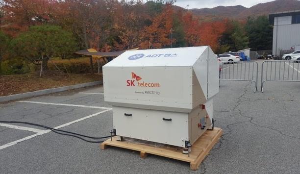 Percepto demonstrates autonomous drones over SK Telecom's 5G trial network