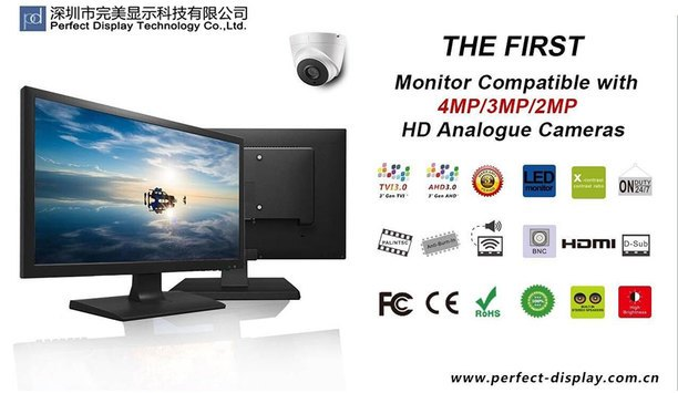 Perfect Display Technology launches updated PX Series range of CCTV monitors