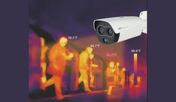 Platinum CCTV unveils PT-BF5421-T Thermal/Visible Hybrid IP Security Camera that identifies individual body temperatures