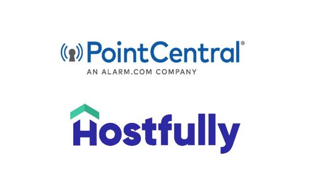 PointCentral integrates with Hostfully for seamless, contact-free access to vacation rentals