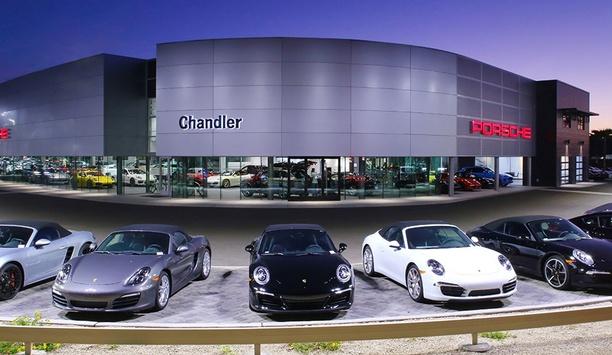 IDIS Secures Porsche Chandler By Installing Next-Generation Surveillance Technologies