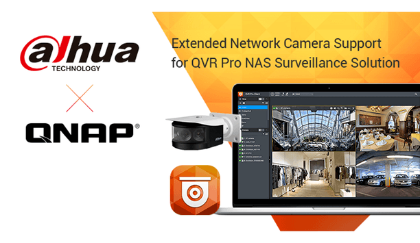 Dahua announces 88 models of PTZ series network cameras are now compatible with QNAP NAS