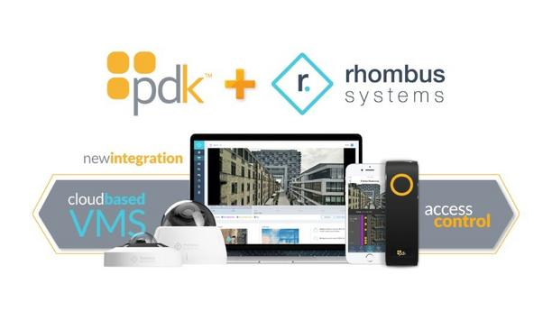 ProdataKey Announces The Release Of PDK/Rhombus Integration To Simplify Monitoring And Enhance Security