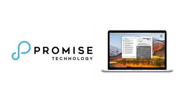 Promise Technology adds ChronoSync software to Pegasus3 series of RAID storage solutions