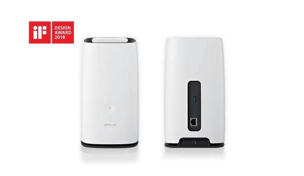 Promise Technology wins iF DESIGN AWARD 2018 for its Apollo Cloud 2 Duo personal cloud-based storage solution