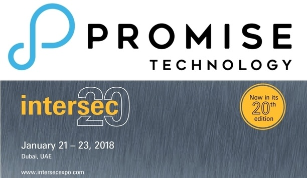 Promise Technology Inc. exhibit lineup of video surveillance solutions at Intersec Dubai 2018