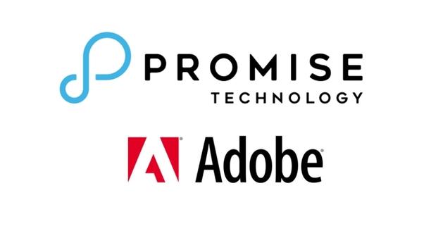 Promise Technology's Pegasus3 line of desktop RAID storage solutions custom configures to optimise Adobe Creative Cloud's performance