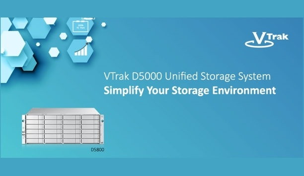 Promise Technology unveils VTrak D5000 Series Unified Storage System
