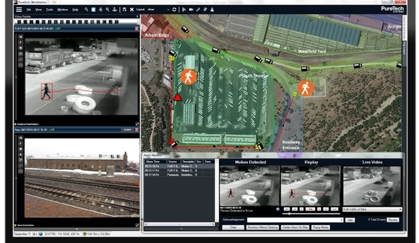 PureTech Systems announces new features in PureActiv 14.2 geospatial video management and analytics software