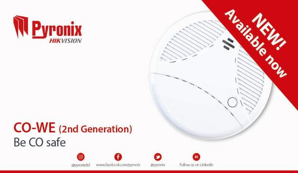 Pyronix Launches Second-Generation CO-WE Detector To Protect From Carbon Monoxide