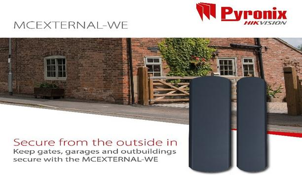 Pyronix Launches MCEXTERNAL-WE Outdoor Wireless Magnetic Contact