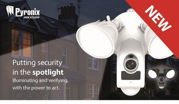 Pyronix Announces Outdoor Wi-Fi LightCamera For Perimeter Protection Of Properties