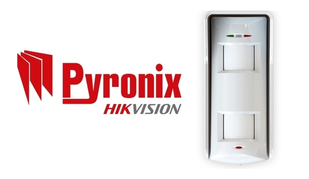 Pyronix's outdoor high-mount detector XDH10TT-AM ensures efficient intruder detection and perimeter security